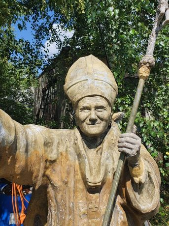 Figura Jan Paweł 2 Posąg