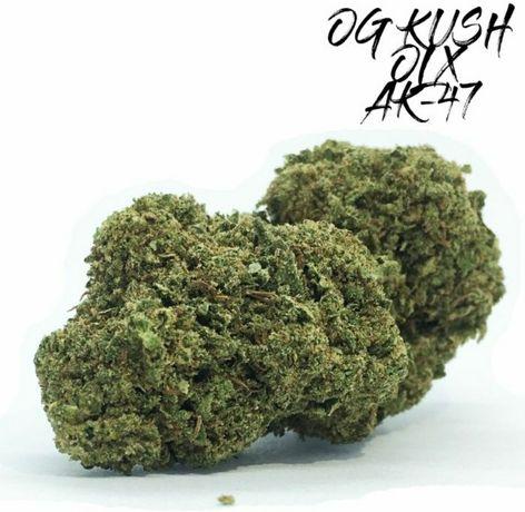 5 Gram AK-47 45% Susz CBD z Amsterdamu Marihuana Medyczna Zioło Legal