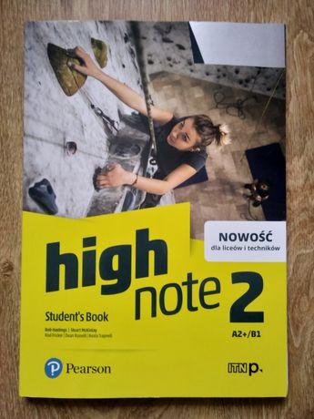 High Note 2 NOWY podręcznik Student's book A2+/B1 Pearson Nowość