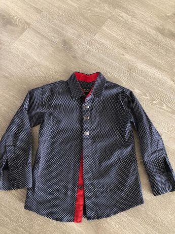 Рубашки модные на мальчиков
