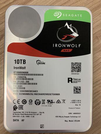 HDD Seagate 10TB ironwolf NAS