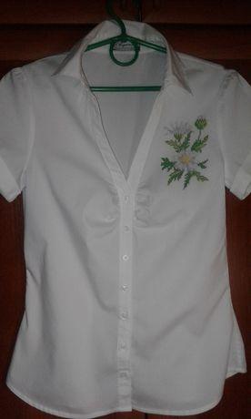 Рубашка женская вышиванка 44 размер ручная работа
