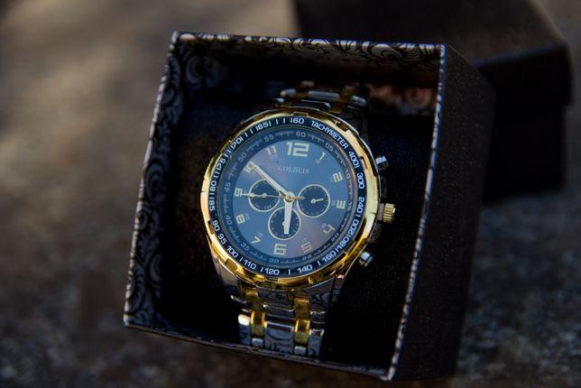 Часы наручные кварцевые Goldis (подарок) + фирменная упаковка