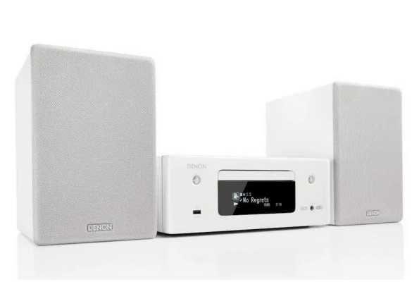 Wieża stereo Denon Ceol N11, tuner FM/DAB+, CD, Bluetooth, Wi-Fi