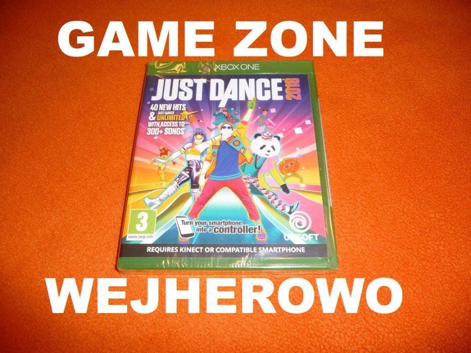 Just Dance 2018 Xbox One + S + X = PŁYTA Kinect = Wejherowo