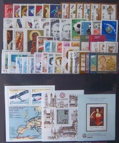 Znaczki pocztowe Rocznik1982czysty,abonamentowy