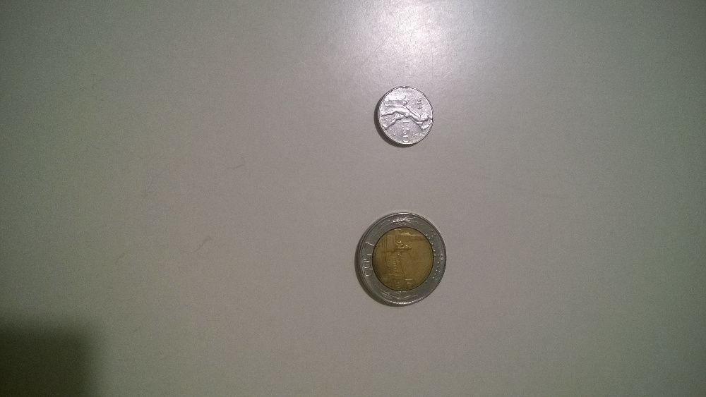 moneta 500 lirów 50 lirów Włochy lir Poznań - image 1