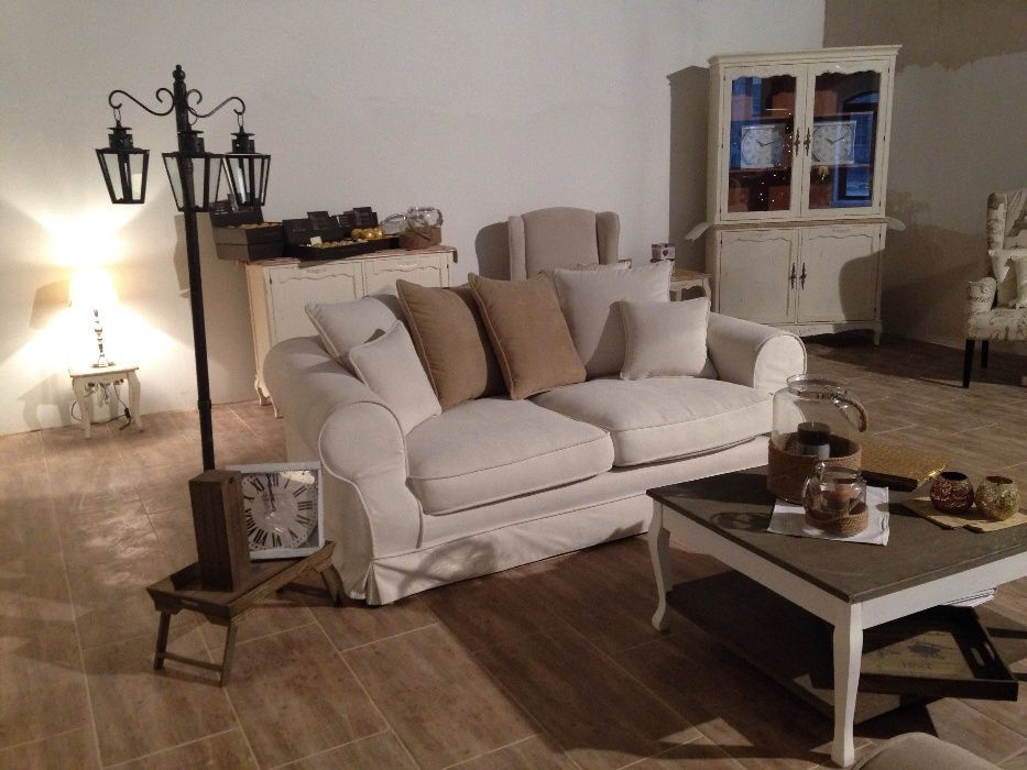 Kanapa sofa LEEDS angielski prowansalski styl zdejmowane pokrowce