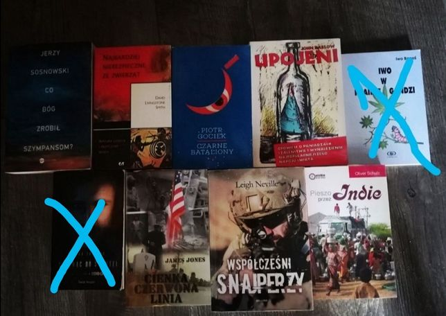 Książki - różne różnościowe