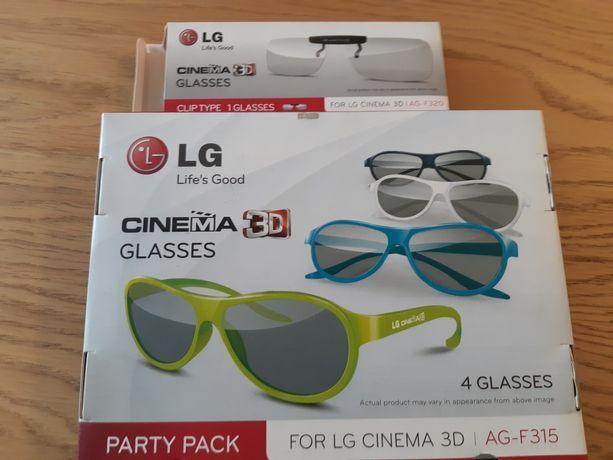 Okulary 3d LG 3D