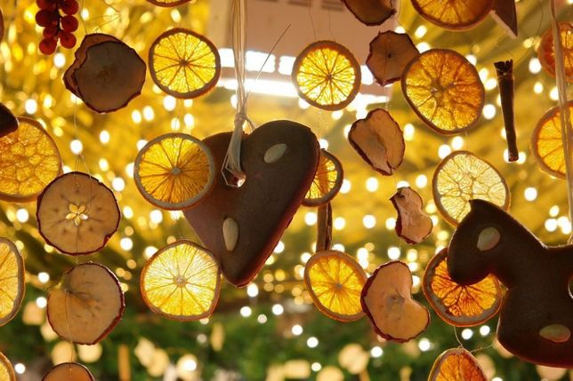 сушеные цитрусовые для декора 100гр новогодний новорічний декор