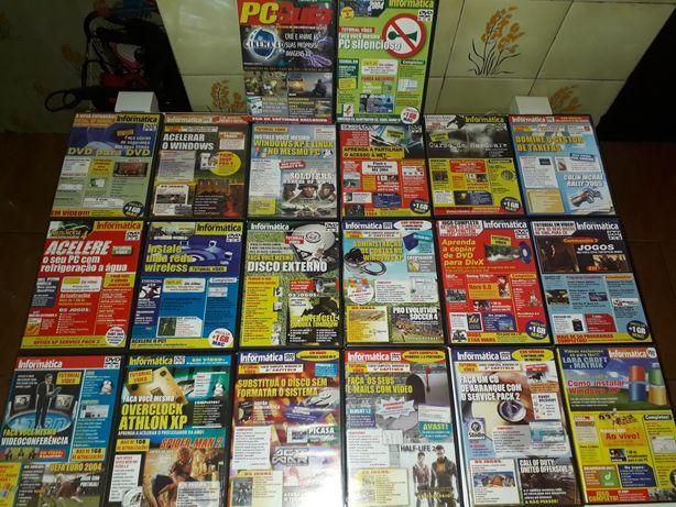 DVD'S ROM da revista Informática vários números
