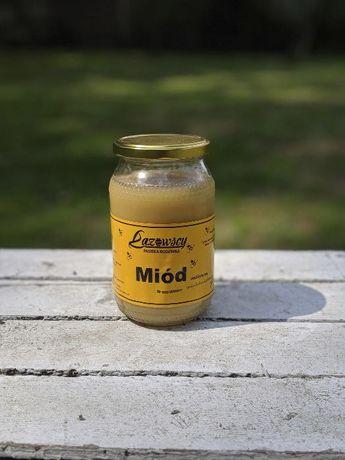 Sprzedam miód pszczeli wielokwiatowy 0.9L 1.20kg Pasieka Łazowscy