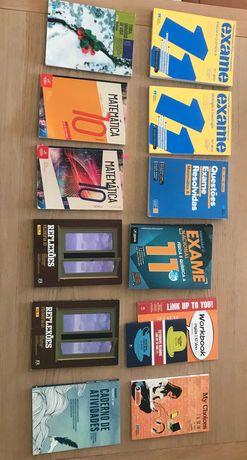 Manuais e Cadernos de atividades 10º e 11º ano