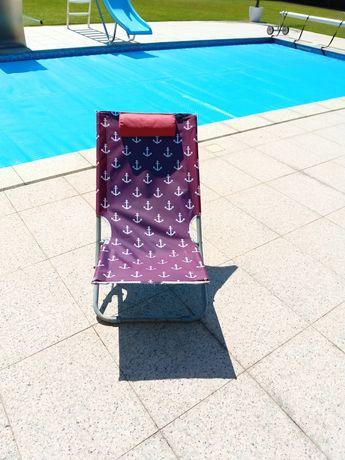 Cadeira de praia baixa
