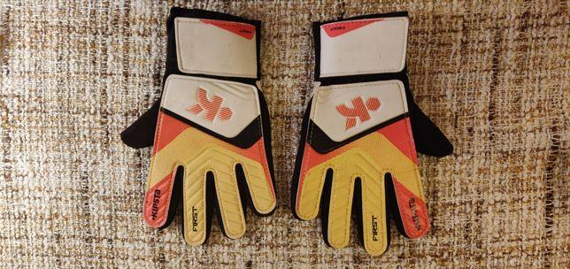 Rękawiczki (17 z przesyłką) rękawice piłkarskie bramkarskie rozmiar 4