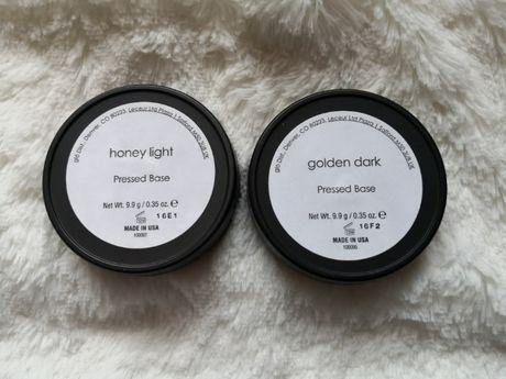 Puder prasowany:Honey medium i golden dark i honey light