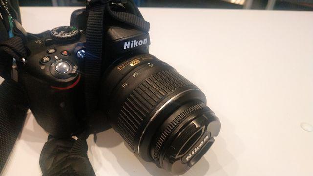 Nikon D5100 ok. 20,000 przebiegu + obiektyw 18-55 mm