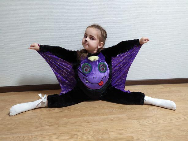 Костюм на Хеллоуин маскарад летучая мышь george 3-4 98-104