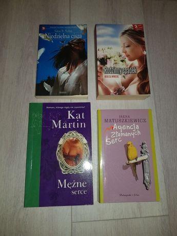 Książki 4 sztuki na długie wieczory