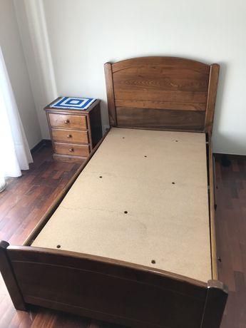Conjunto cama de solteiro