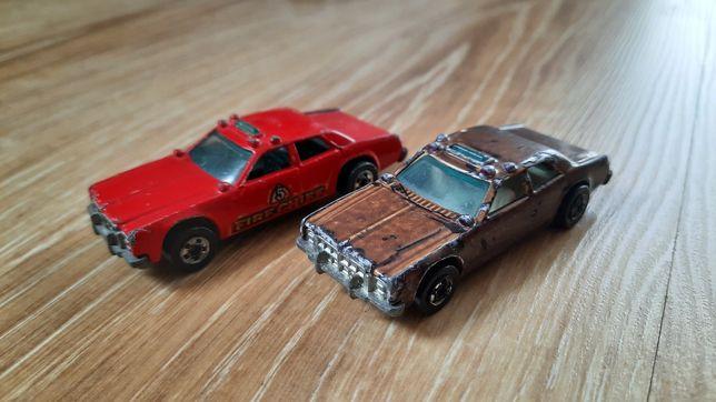 Resoraki hot wheels sherriff i straż nie matchbox