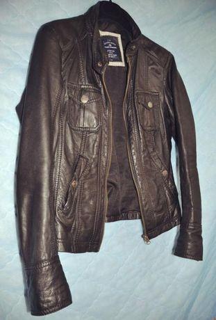 женская куртка, кожаная куртка ,куртка с натуральной кожи,кожанка