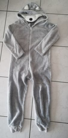 Pijama polar lobo