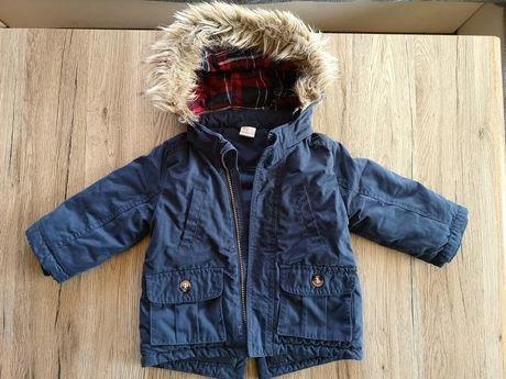 H&M kurtka zimowa  80 chłopięca