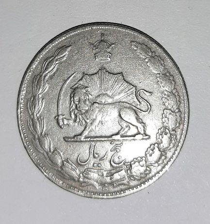 Монета. Иран. 5 риалов 1972 (1351) год.