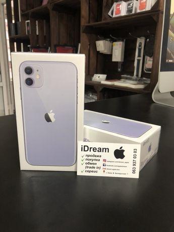 Apple iPhone 11 64/128/256 gb Purple НОВЫЕ! ГАРАНТИЯ от МАГАЗИНА!