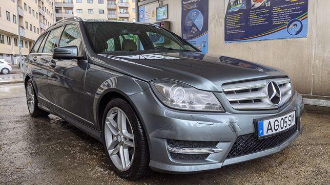 Mercedes-Benz C220 C250 CDI AMG (204CV)*PELE*MALA ELÉTRICA*BI-XENON