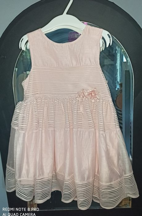 Sukieneczka z tiulem różowa H&M 98 Wrocław - image 1