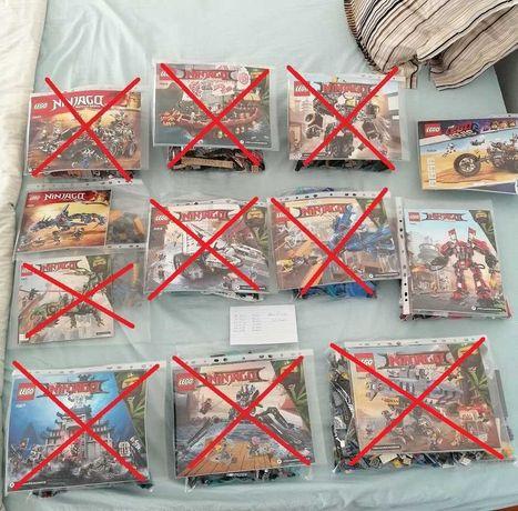 Lego Ninjago , Movie - 70615 / 70652 / 70834