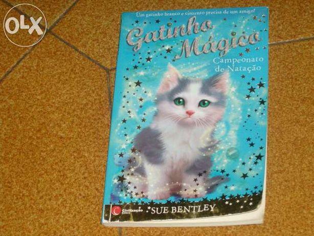 """Da coleção """"gatinho mágico"""" - 'campeonato de natação'"""