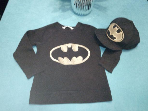 Bluza czapka z daszkiem h&m batman