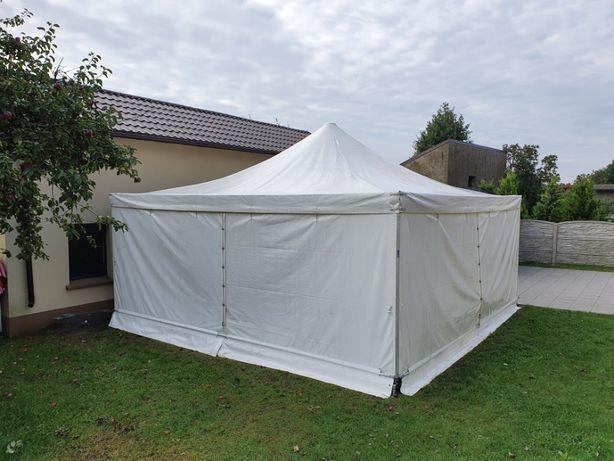 Namiot imprezowy hala namiotowa z drewnianą podłogą 6x6 Pol-Plan alu