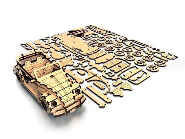 Механические 3D пазлы конструктор, модель для сборки, коллекция