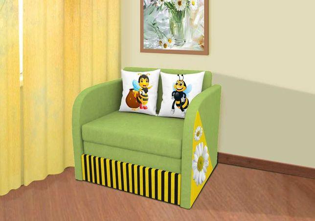 Детский диван-кресло Пчёлка самый модный