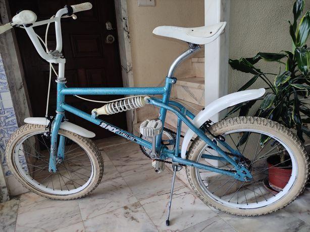 Bicicleta BMX vintage de origem