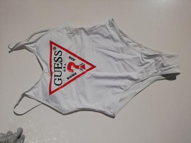 Nowy strój kąpielowy jednoczęściowy biały