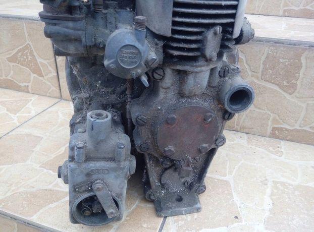 Мотор трофейний ДКВ. DKW. 1943 рік. Вермахт
