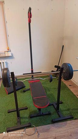 Ławka do ćwiczeń, ławka wielofunkcyjna, Marbo Sport, Home, obciązenie