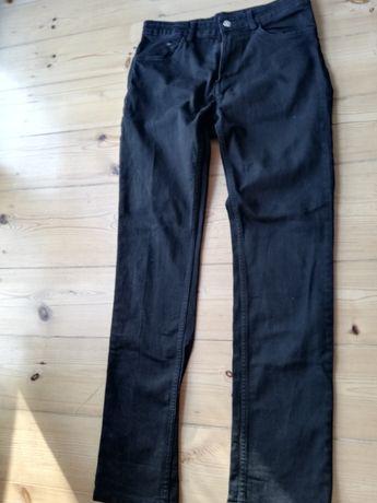 Czarne dżinsy H&M na 170 cm