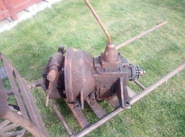 Skrzynia biegów + reduktor do traktorka SAM Gaz uaz 63