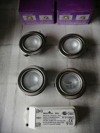 Lâmpadas LED, Halgóneo, transformador Dimmer 230V 12, Focos de teto