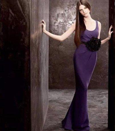 Платье вечернее. Оригинал. Фиолетовое