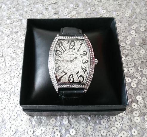 Nowy zegarek męski FRANCK MULLER GENEVE pasek pudełko