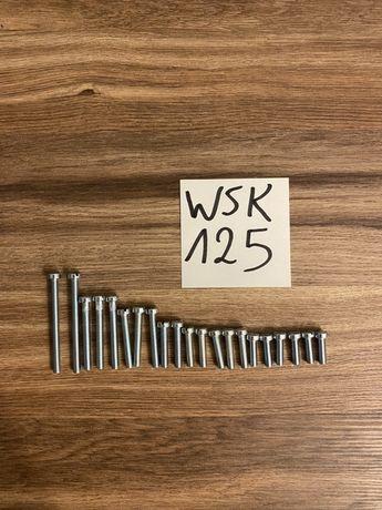 NOWE OCYNKOWANE śruby silnika WSK 125