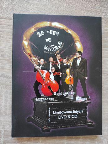 Zamach na MoCarta, Zamachowski, Grupa MoCarta, Malajkat DVD + CD nowa